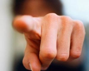 pointe du doigt