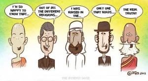 Humour athée