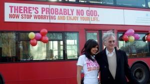 Dawkins fundation london bus