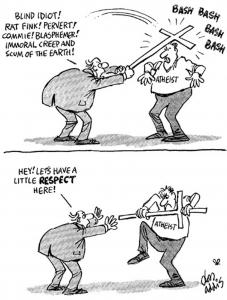 respect athéisme
