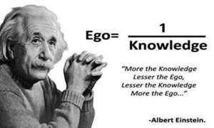 Einstein and ego