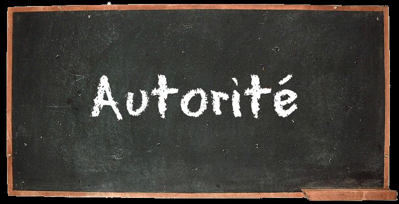 Argument d'autorité