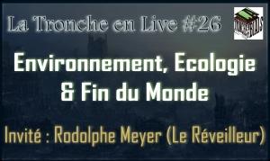 Live 26- Economie & fin du monde