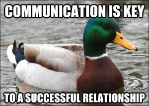 communication canard