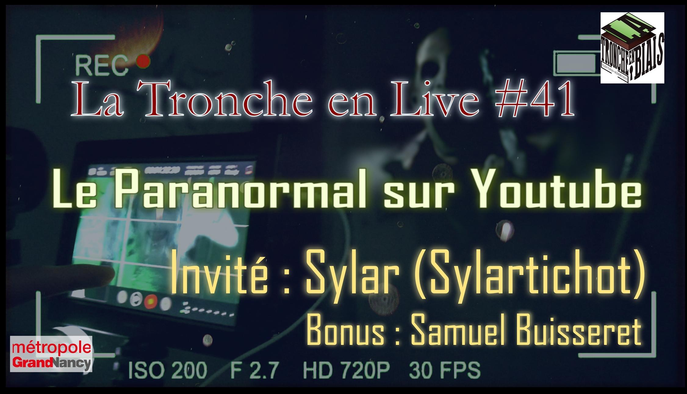Le Paranormal Sur Youtube Sylar Tenl41