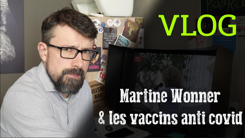 """""""Les vaccins ne protègent pas du covid"""", nous dit la députée Martine Wonner"""