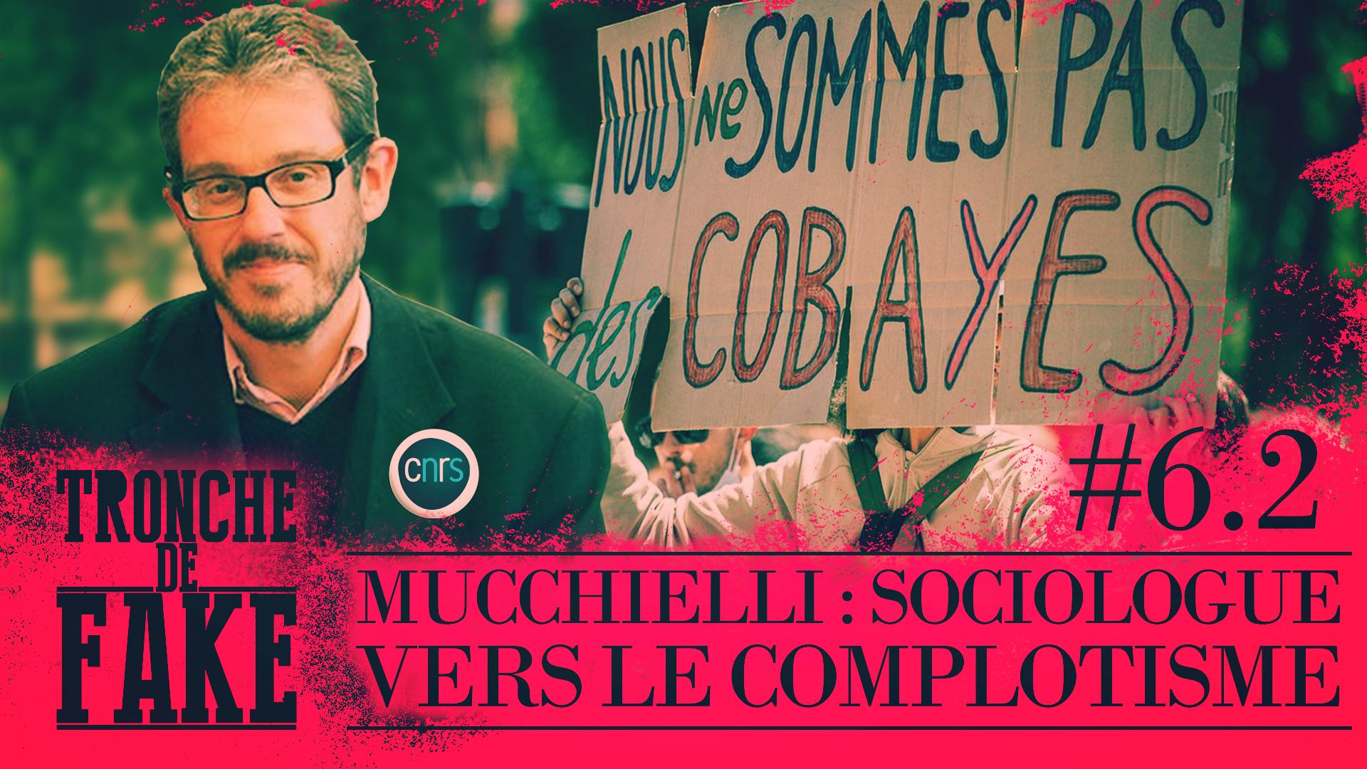 Trajectoire vers le complotisme du sociologue Laurent Mucchielli