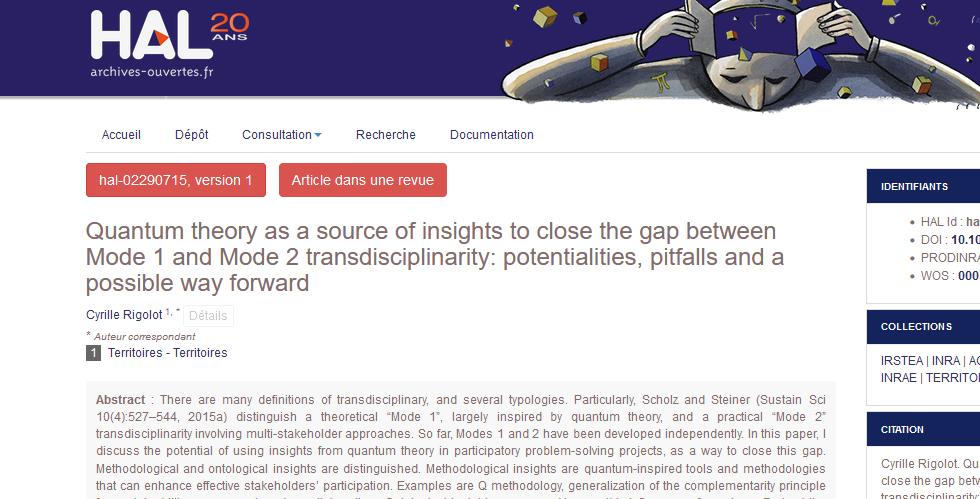 La Biodynamie crédibilisée par la Sociologie quantique … et réciproquement ?